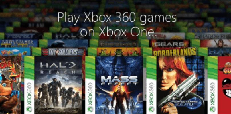 130 juegos de Xbox 360 serán retrocompatibles en Xbox One en noviembre