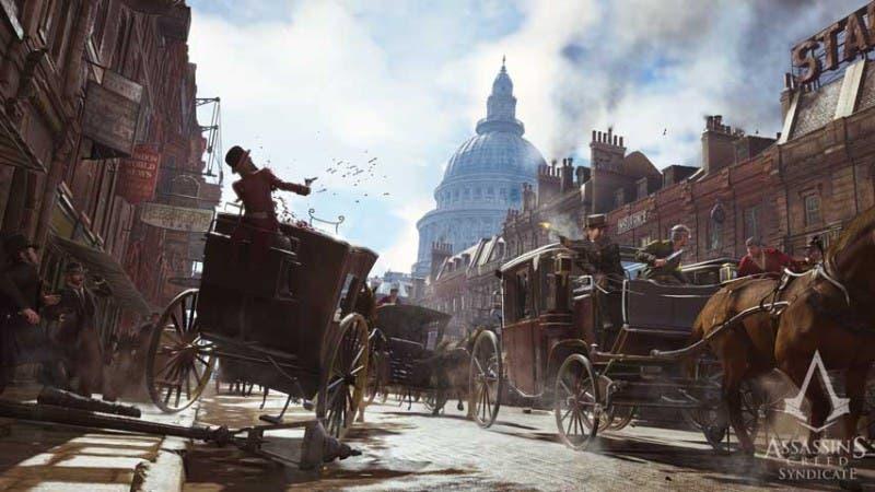 Los carruajes son, además de un nuevo medio de transporte, elementos de combate y persecución, de gran importancia en Syndicate.