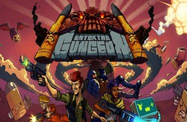 Se muestra un gameplay de Enter the Gungeon