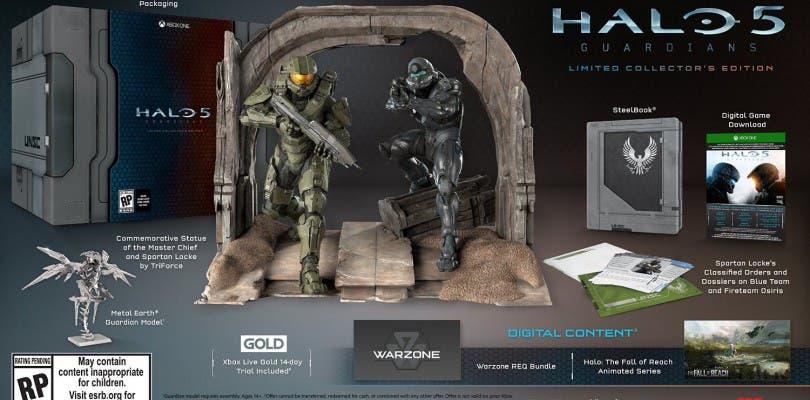 Cambia tu clave de la edición coleccionista de Halo 5 por el disco