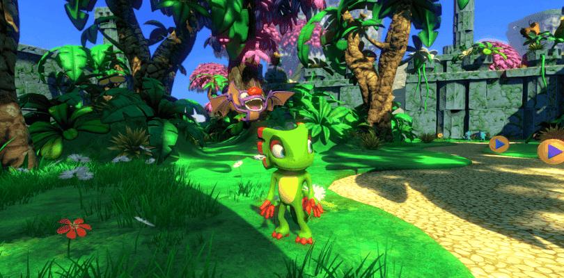 Yooka-Laylee se deja ver en un bello gameplay en Xbox One