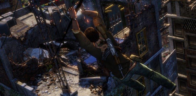 Así se ve Uncharted 2 en la remasterización Uncharted: The Nathan Drake Collection