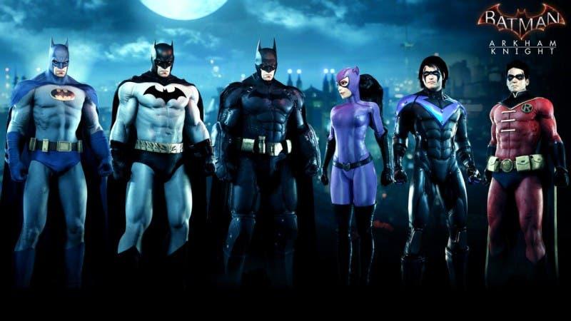 Pack de Skins de la Batfamilia