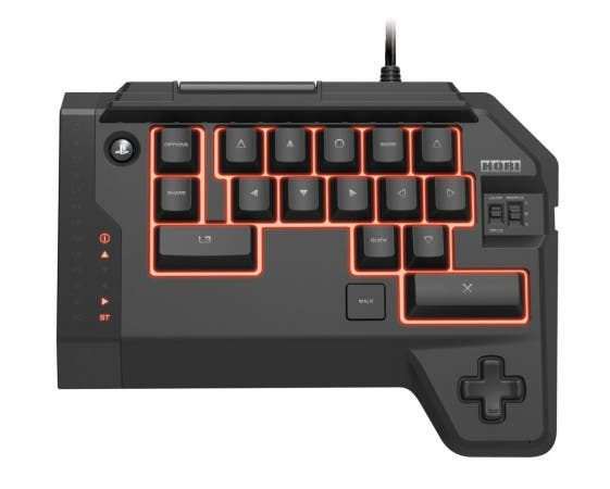 mando playstation 4 teclado