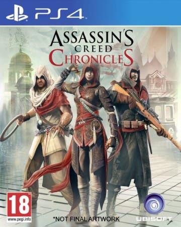 Carátula provisional de la edición de PS4 del pack físico.