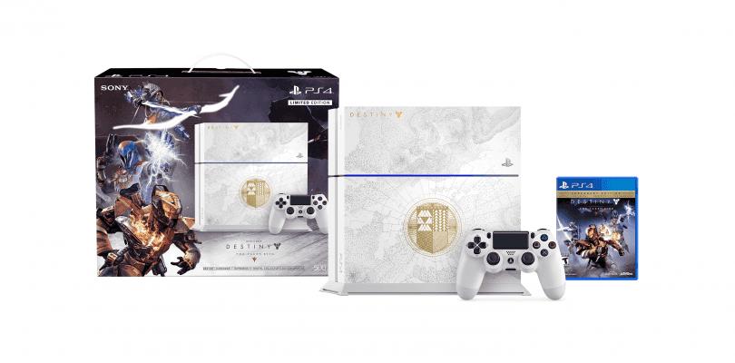 Sony anuncia la edición especial de PlayStation 4 de Destiny