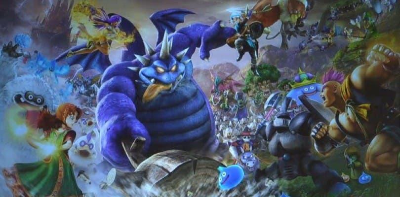 Nuevo vistazo a algunos personajes de Dragon Quest Heroes II