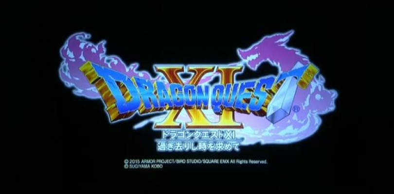 Dragon Quest XI llegará a PlayStation 4. Nintendo 3DS y NX