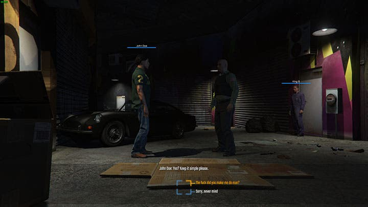GTA RPG dialogo