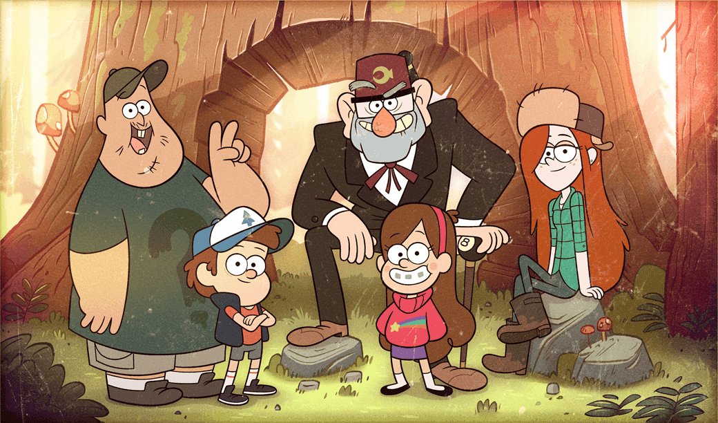Gravity-Falls-characters