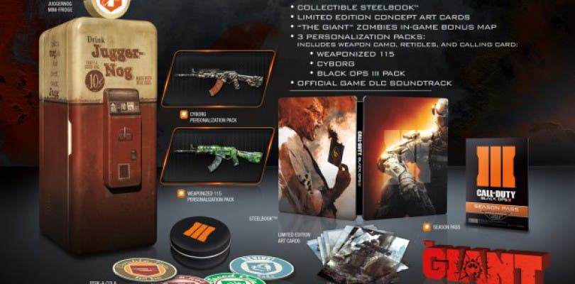 "Filtrada la ""Juggernog Edition"" de Call of Duty: Black Ops 3"