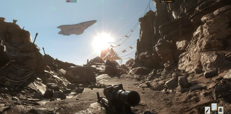 Espectaculares imágenes a 4K de Star Wars Battlefront