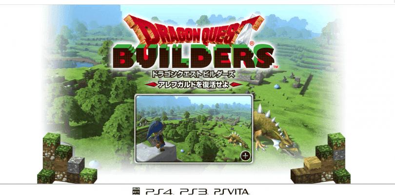 Se anuncia Dragon Quest Builders para las tres consolas de Sony