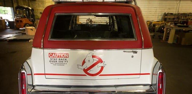Así será el coche de las nuevas Cazafantasmas