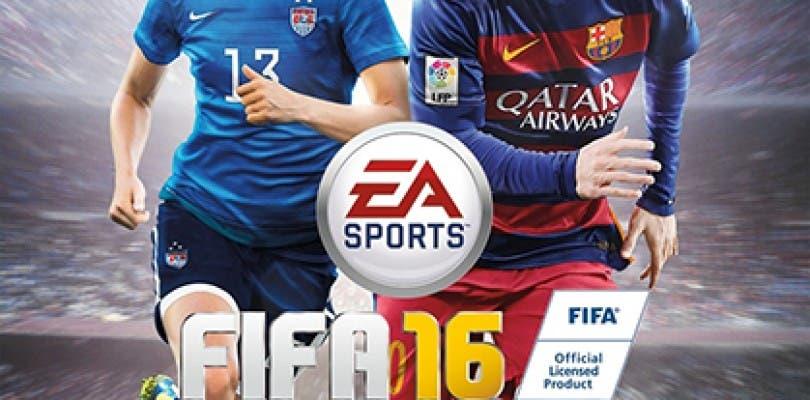 Publicada la portada de FIFA 16 con el futbol femenino como protagonista