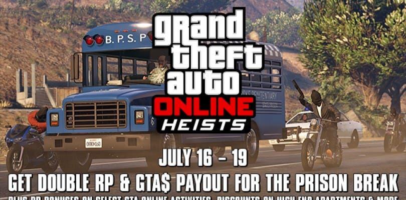 GTA Online ofrecerá puntos dobles este fin de semana