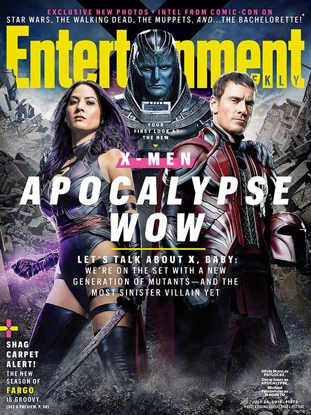 Portada X-Men Apocalipsis