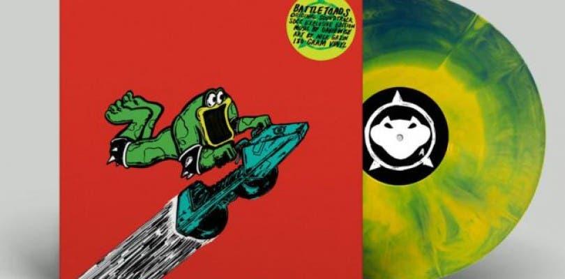 Rare lanzará un disco de vinilo de Battletoads por su 30 aniversario