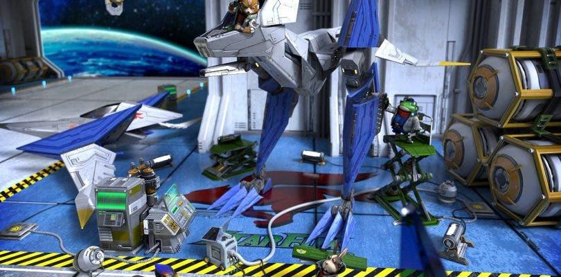 Star Fox Zero también está presente en la GamesCom con un nuevo gameplay