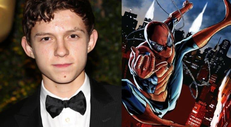 Imagen de Tom Holland, más Spider-Man que nunca