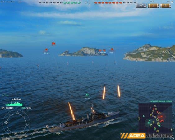 Un nuevo campo de batalla con una nueva forma de jugar. La lucha entre barcos es bien diferente a las luchas con tanques y aviones a las que nos habíamos acostumbrado.