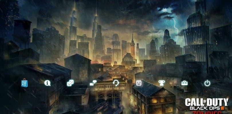 Los jugadores que hayan probado la beta de Black Ops 3 recibirán un tema en PlayStation 4