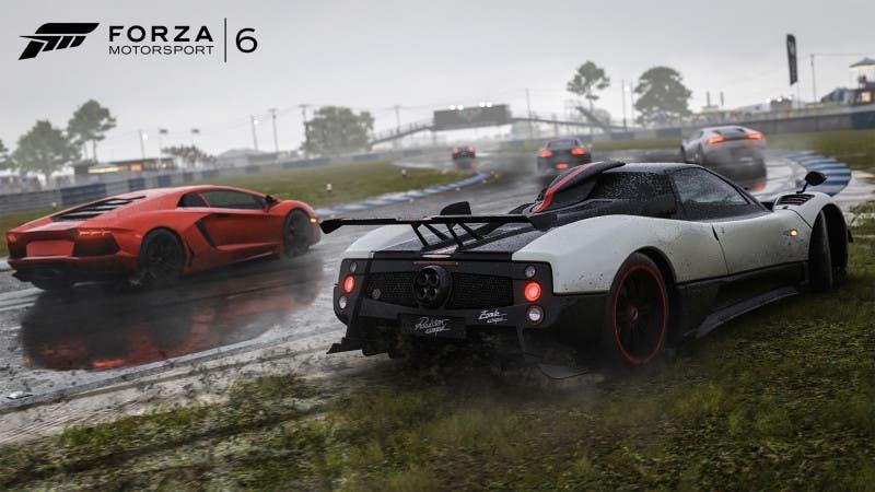 Forza6 lluvia