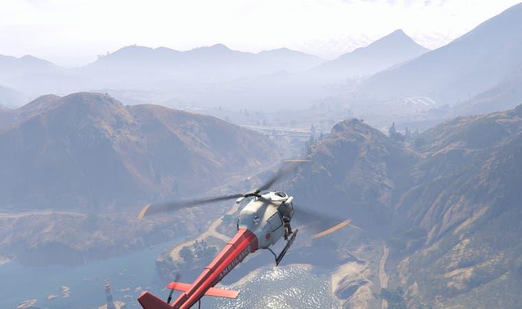 GTA V Heli paisaje