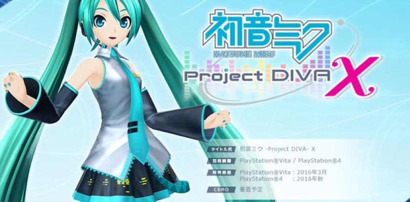 SEGA anuncia Hatsune Miku: Project Diva X