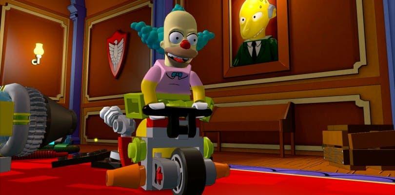 Los Simpsons se exhiben en nuevas imágenes de LEGO Dimensions