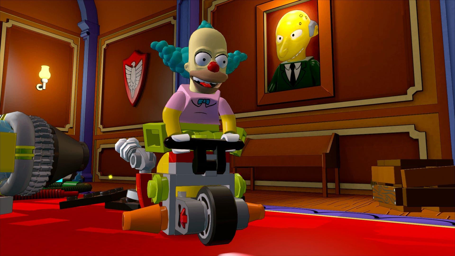 Los Simpsons Se Exhiben En Nuevas Imagenes De Lego Dimensions