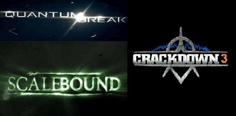 Quantum Break, Scalebound, y Crackdown 3 no tienen previsto salir en PC