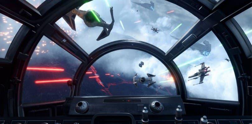 """Tráiler gameplay del nuevo modo de juego de Star Wars Battlefront """"escuadrón de cazas"""""""