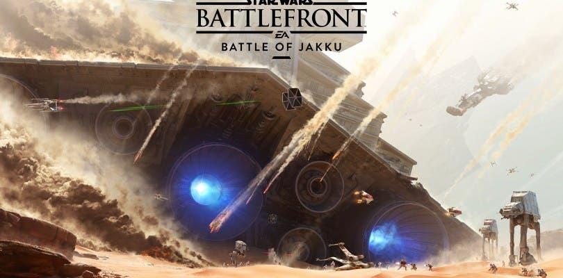 Un primer vistazo a la Batalla de Jakku de Star Wars Battlefront