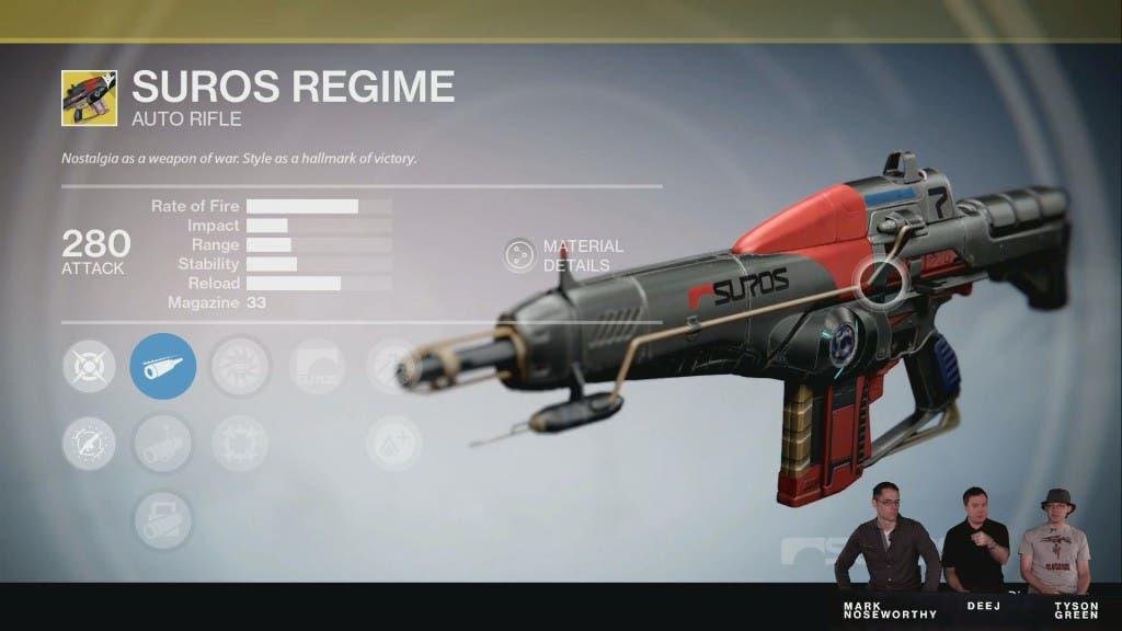 Las armas mejoradas al Año 2 también sufrirán un cambio de imagen