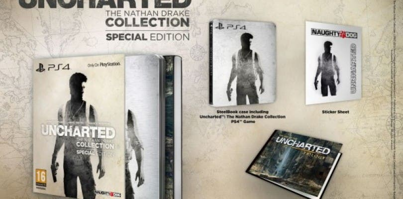 Uncharted: The Nathan Drake Collection tendrá una edición especial solo para Europa