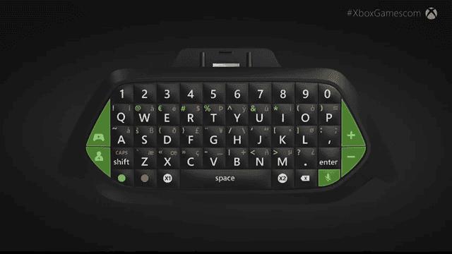 Así lucirá el Chatpad de Xbox One