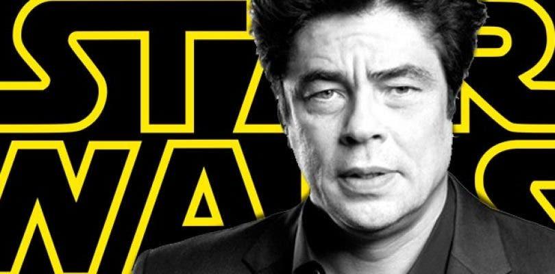 Benicio del Toro podría no ser villano en Star Wars VIII
