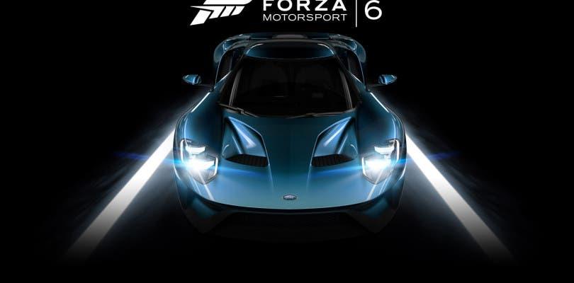 Ya disponible en Xbox One la demo de Forza 6 y trailer de lanzamiento