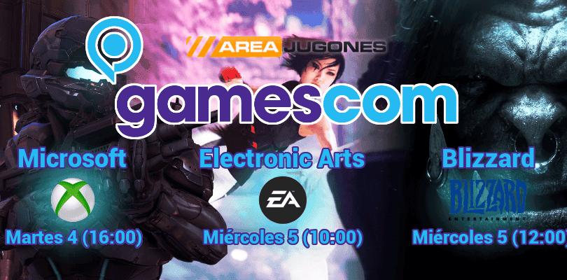 Gamescom 2015 – Tu guía de la feria, horarios, juegos y más