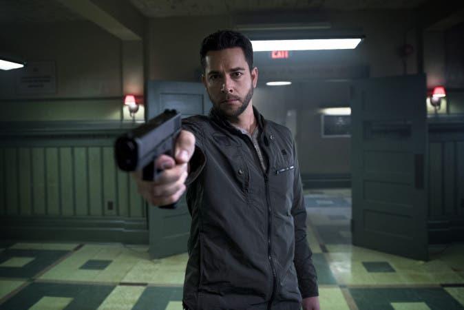 "HEROES: REBORN -- ""Awakening"" Episode 101 -- Pictured: Zachary Levi as Luke Collins -- (Photo by: Christos Kalohoridis/NBC)"