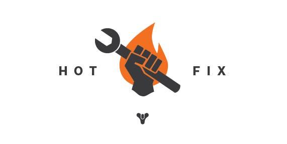 Destiny Hot Fix
