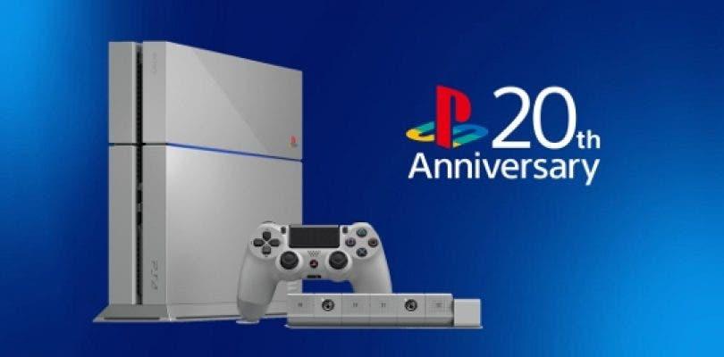 PlayStation España regala una PS4 20 aniversario en un sorteo solidario