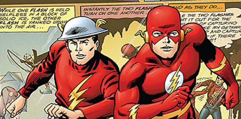 Primera imagen de Jay Garrick en la segunda temporada de The Flash