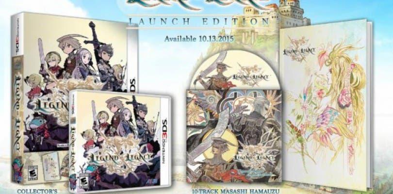 Revelado el contenido y fecha de la edición de lanzamiento de The Legend of Legacy