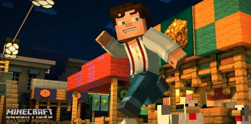 Primer gameplay off-screen de Minecraft: Story Mode