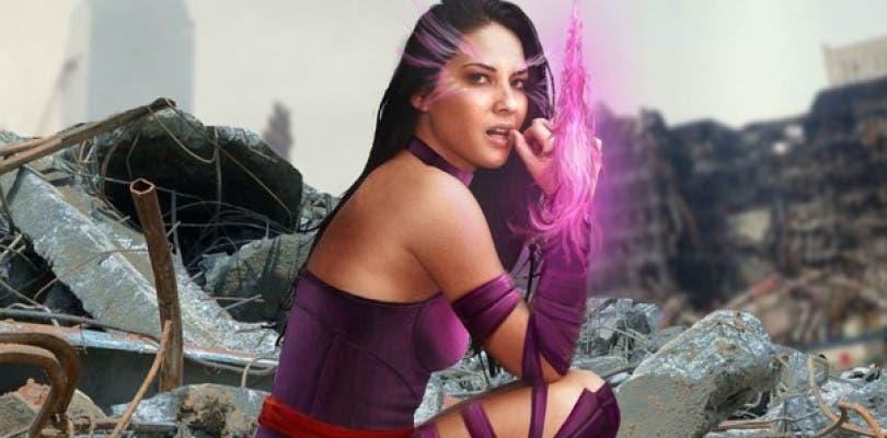 Olivia Munn sigue mostrando sus habilidades físicas como Psylocke para X-Men: Apocalypse
