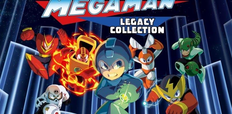 Mega Man Legacy Collection 1 + 2 llegará a Nintendo Switch en mayo