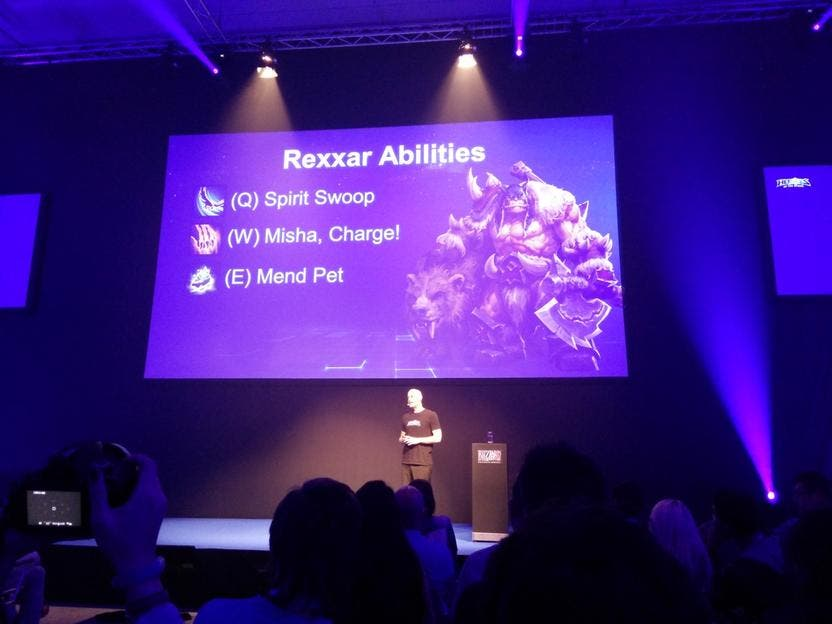 rexxar-blizzard-gamescom