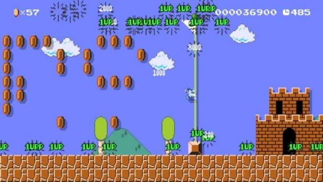 Super Mario Maker Mario Platead